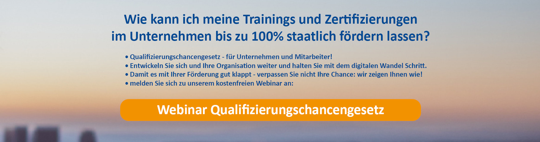 New Horizons WolkenStürmer Workshop Qualifizierungschancengesetz